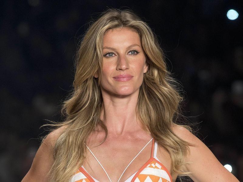Brazilian supermodel Gisele Bundchen in 2015.