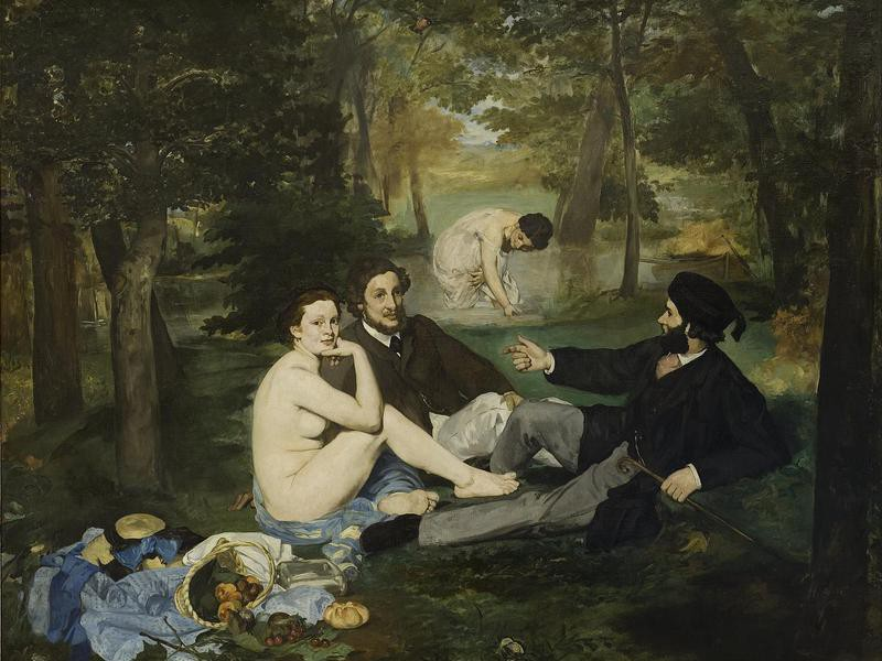 """""""Luncheon on the Grass"""" by Manet"""