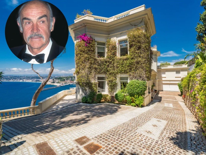 Sean Connery's old house on the French Riviera