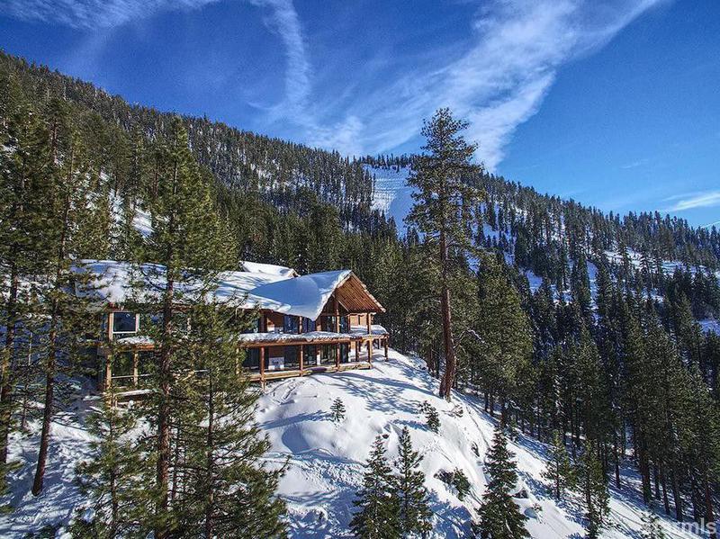 northern california mountain mansion