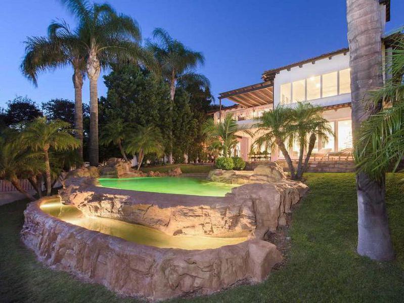 Justin Bieber's Toluca Lake house