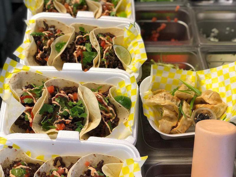 Taco food truck in Louisville, Kentucky