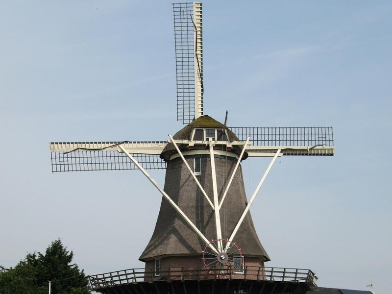 Windmill van Sloten