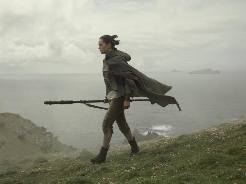 Daisy Ridley in Star Wars: Episode VIII - The Last Jedi (2017)