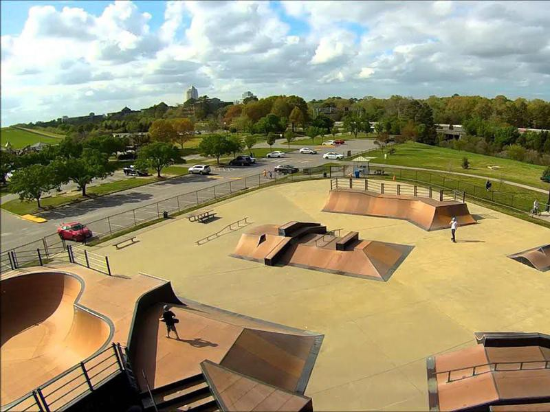 Mt. Trashmore Skate Park in Virginia Beach, Virginia