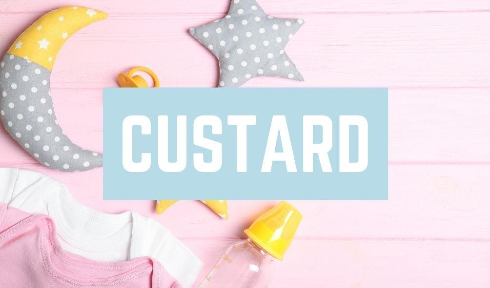 Terrible Baby Names: Custard