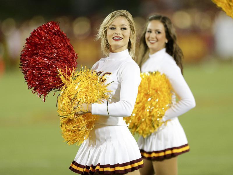 University of Southern California cheerleaders