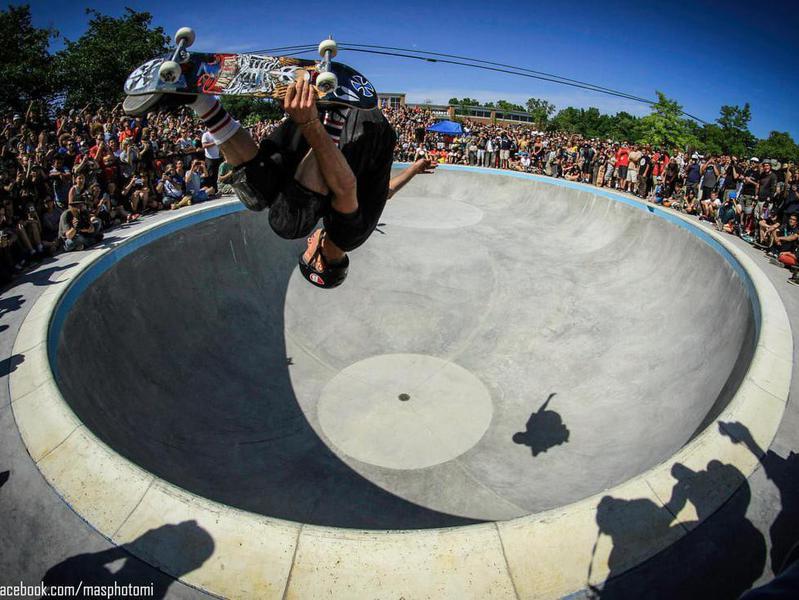Ann Arbor Skatepark in Ann Arbor, Michigan