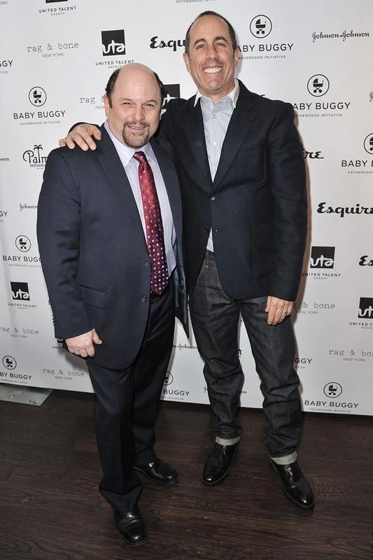 Jason Alexander and Jerry Seinfeld