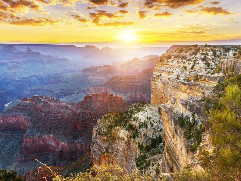 Hopi Point at Grand Canyon National Park, Arizona