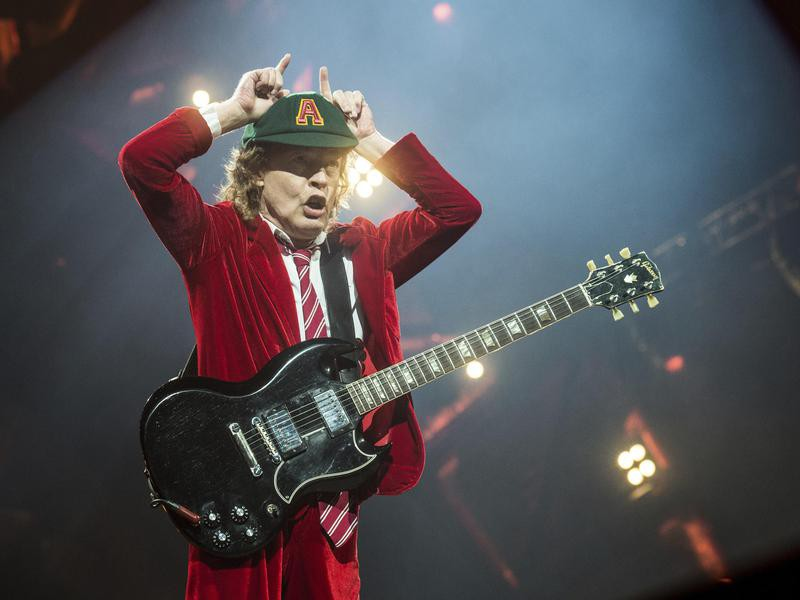 Angus Young in 2016