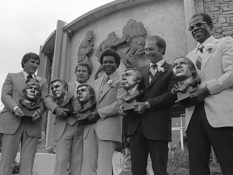 1977 Hall of Fame induction ceremony