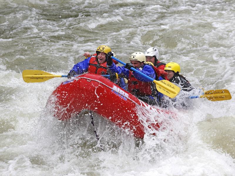 Montana rafting