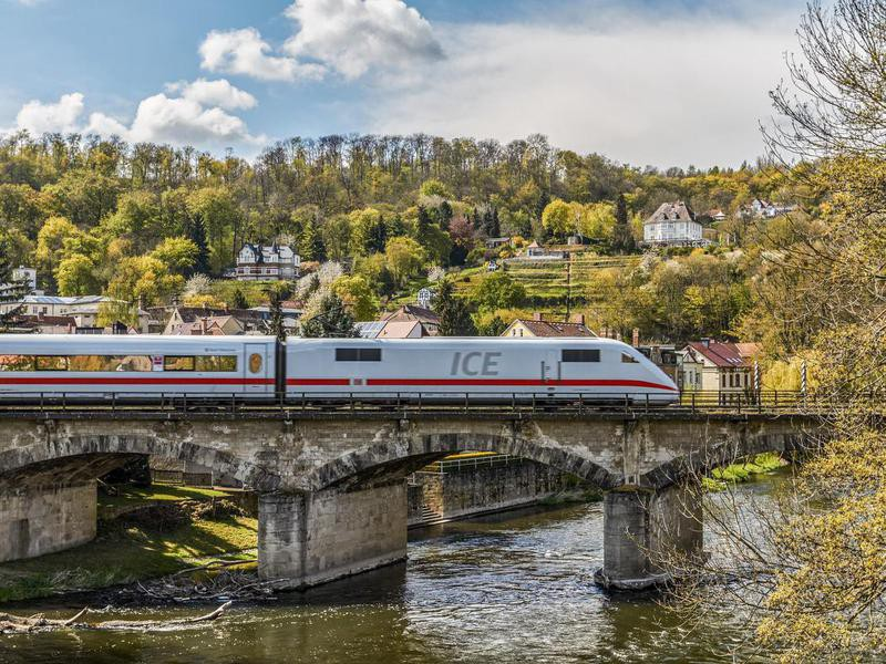 ICE train in Germany