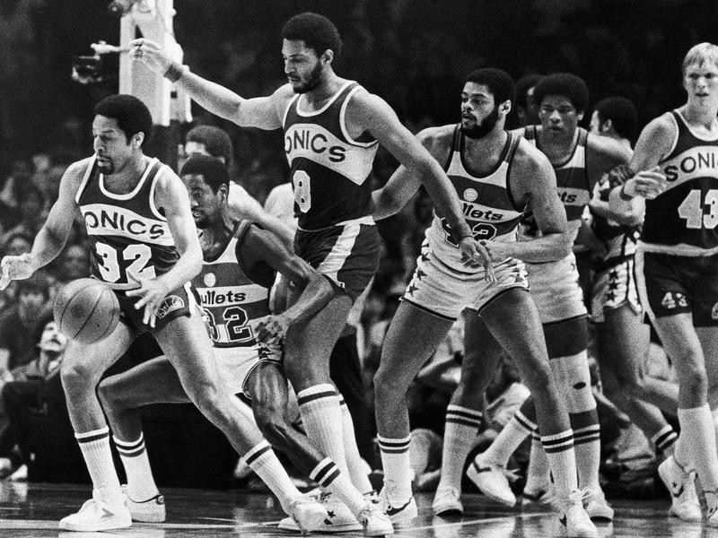 Fred Brown in 1979 NBA Finals