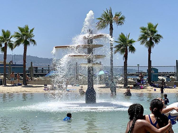 Seaside Lagoon water park in Redondo Beach