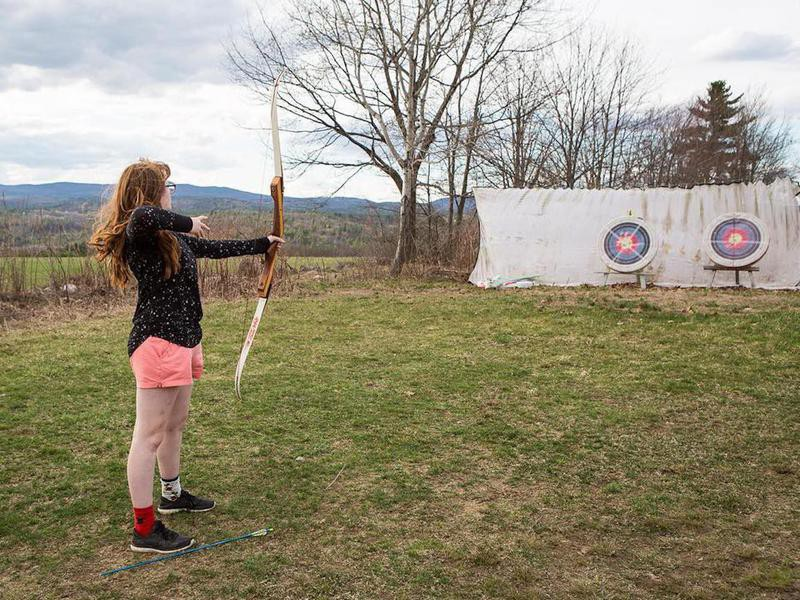 High Mowing School archery club