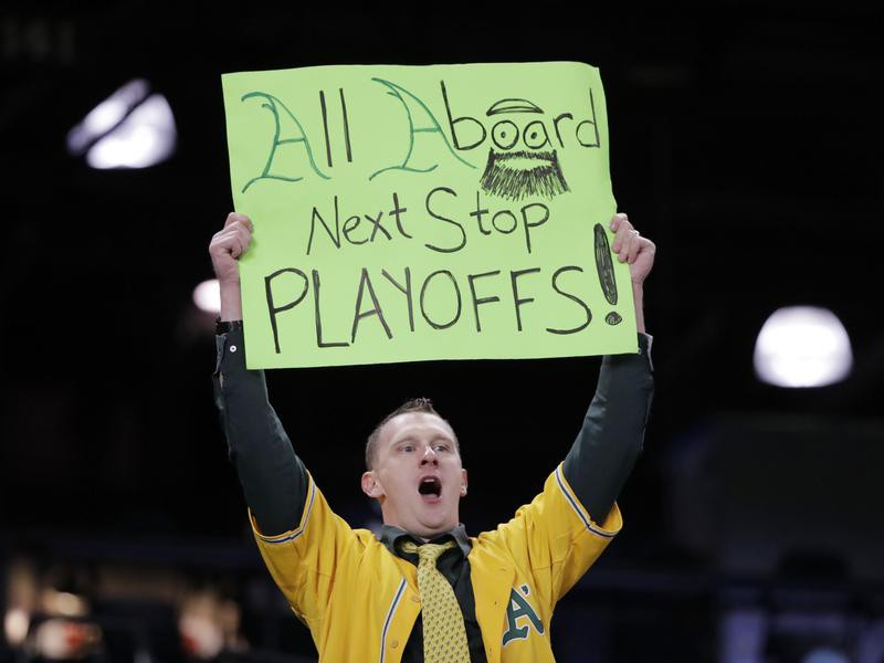 Oakland A's fan