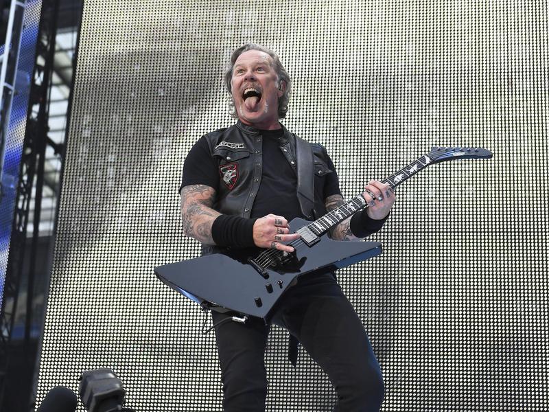James Hetfield in 2019