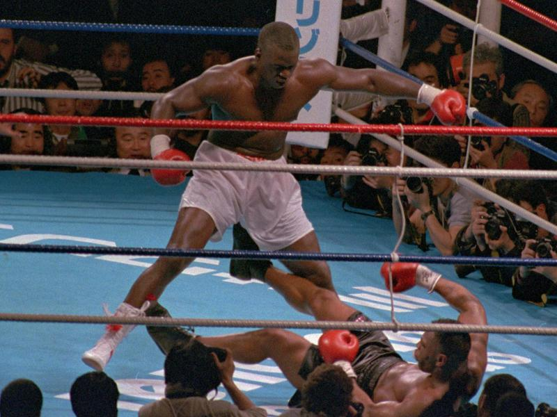 Buster Douglas and Mike Tyson