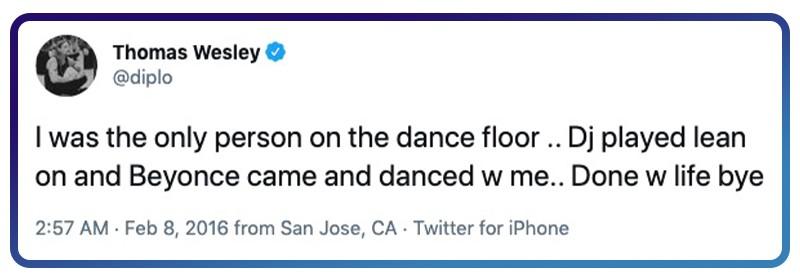 Twitter Beyoncé dream