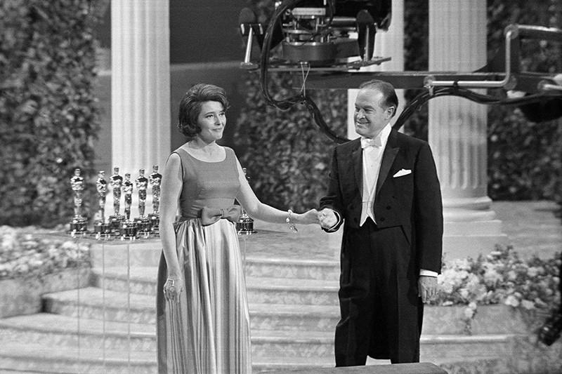 Bob Hope and Patricia Neal