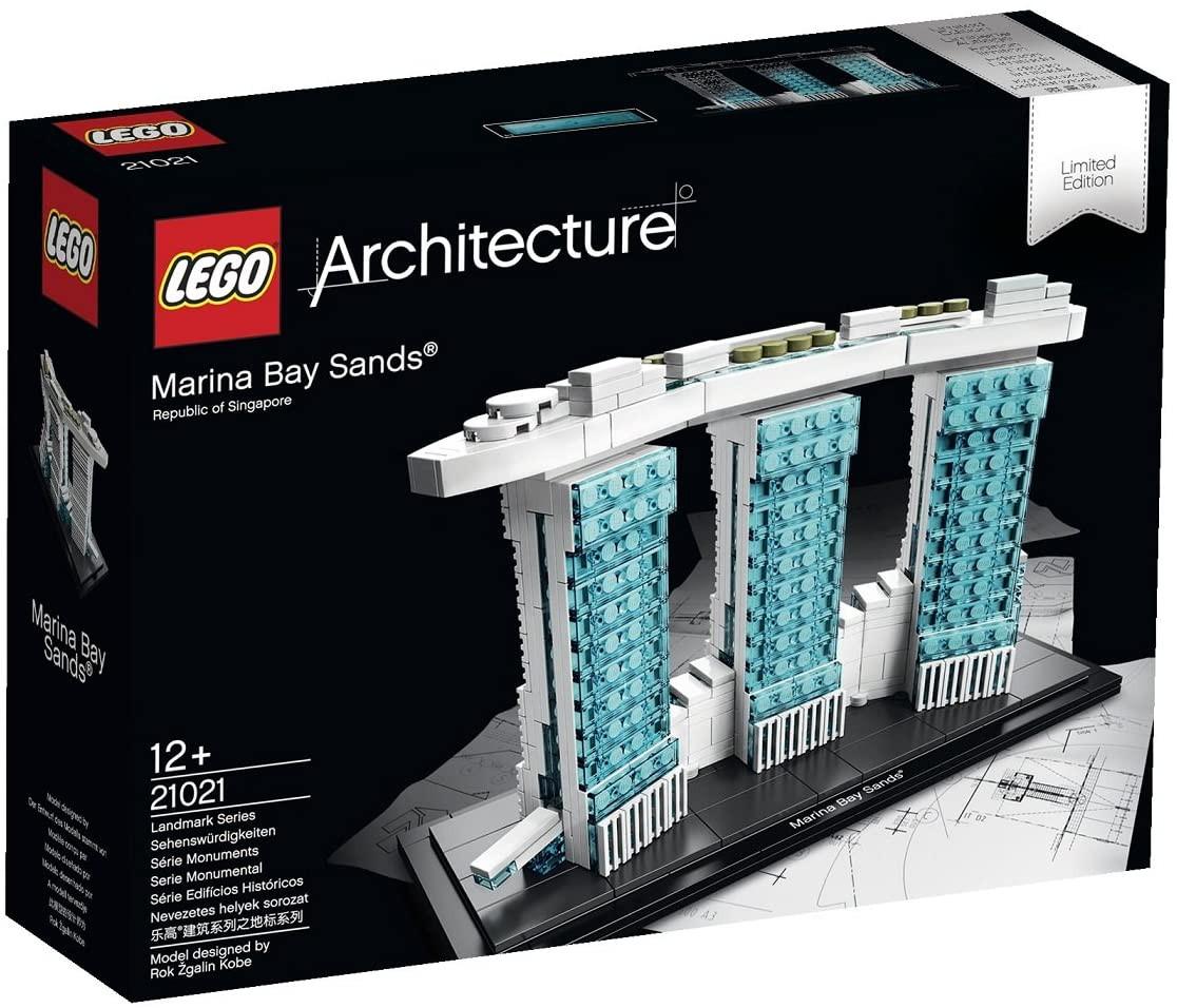 Marina Bay Sands Lego Architecture