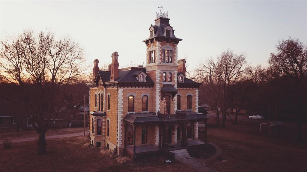 Lebold Mansion in Abeline, Kansas