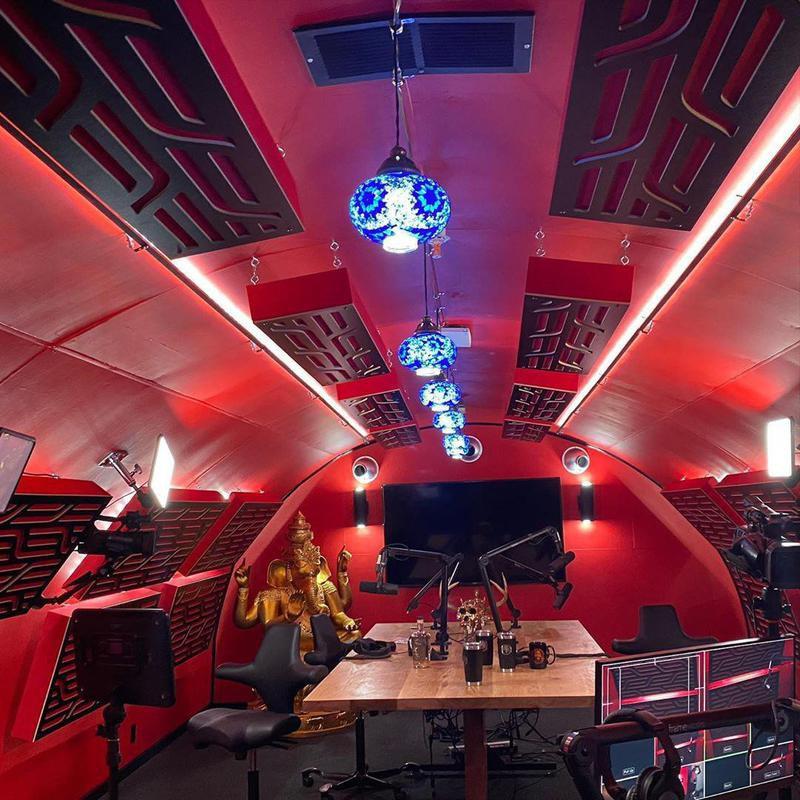 Joe Rogan's podcast room