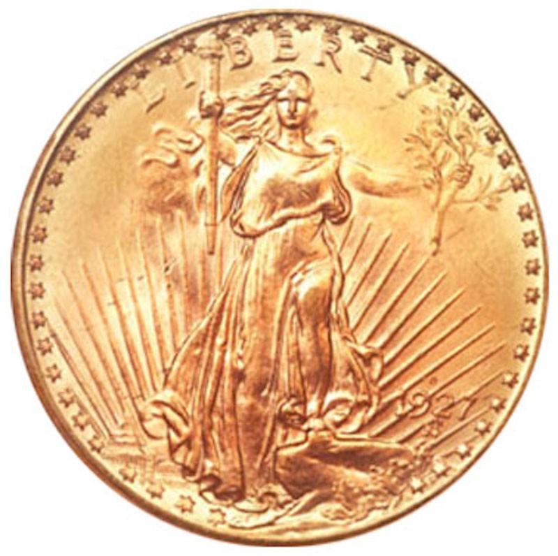 1927-D Saint-Gaudens Double Eagle