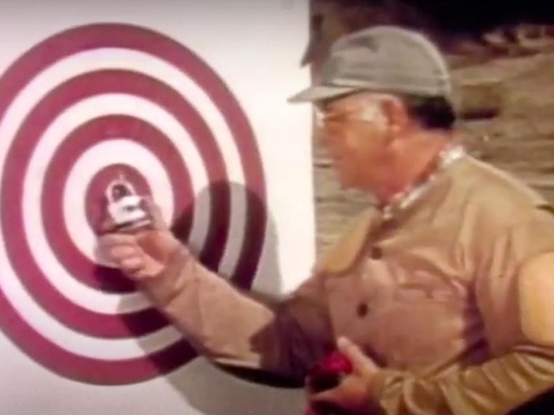 Master Lock Shot Lock in 1974