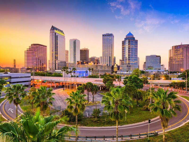 Tampa, Florida's cost of living ranks below the U.S. average, with housing costs the biggest driver of the difference.