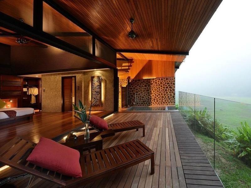 Eco lodge in Borneo