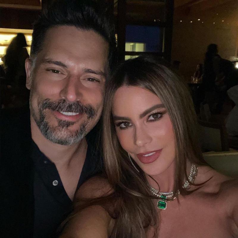 Sofia Vergara and Joe Manganiello selfie together