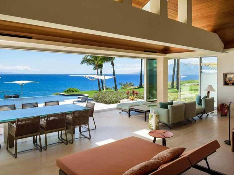 An Oceanfront Estate in Maui