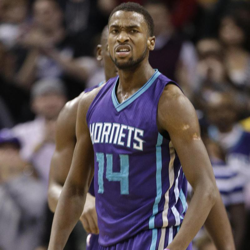 Michael Kidd-Gilchrist reacts