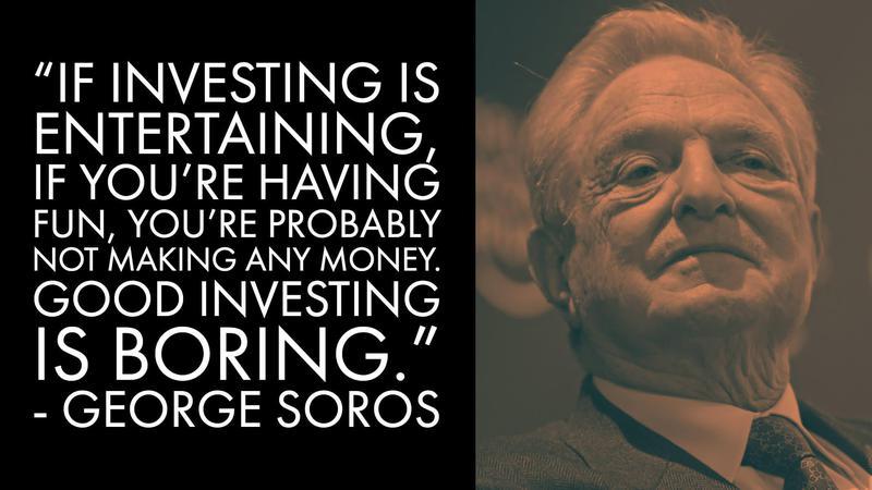 George Soros Money Advice