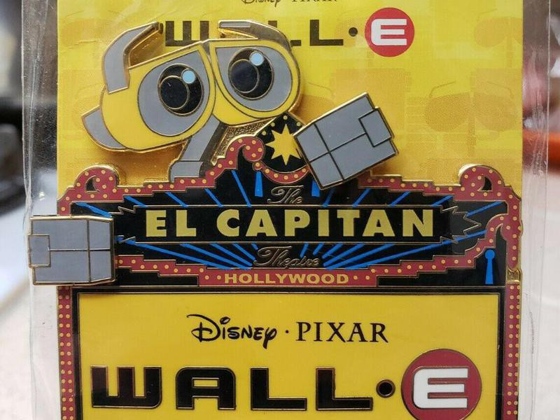 Disney WALLE Marquee Pin