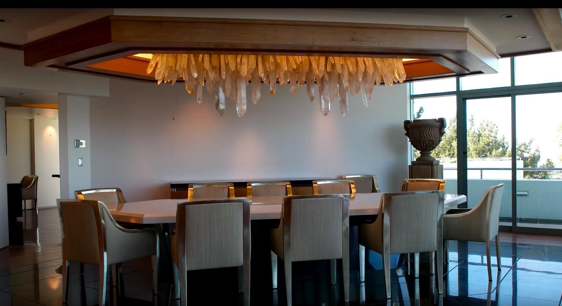Pharrell Williams' dining room
