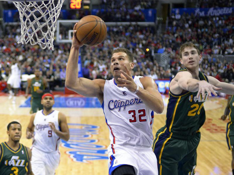 Blake Griffin went up for a shot