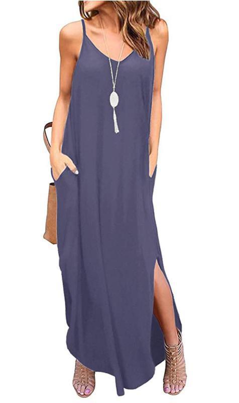 Grecerelle Women's Summer Casual Loose Dress