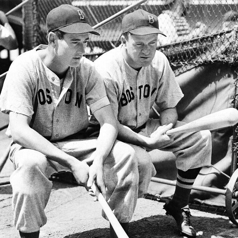 Ted Williams and Joe Cronin
