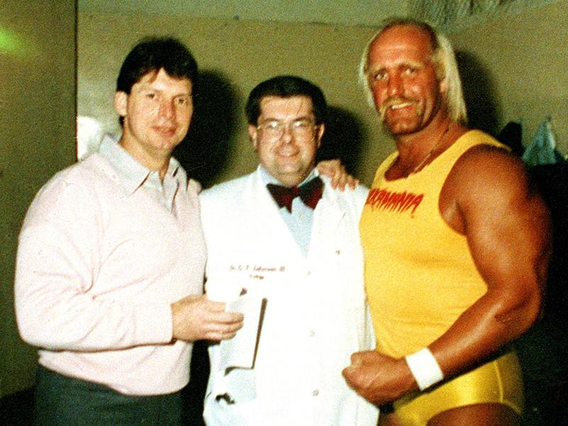 Hogan with Vince and Dr. Zahorian III