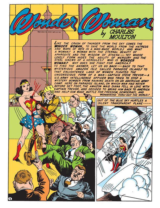 Wonder Woman origin story