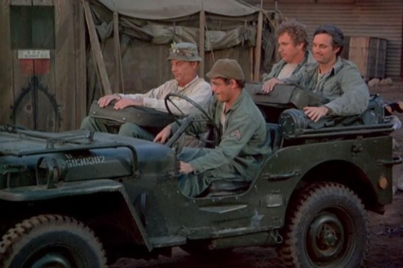 1. 1942 Willys Military Jeep M38A1