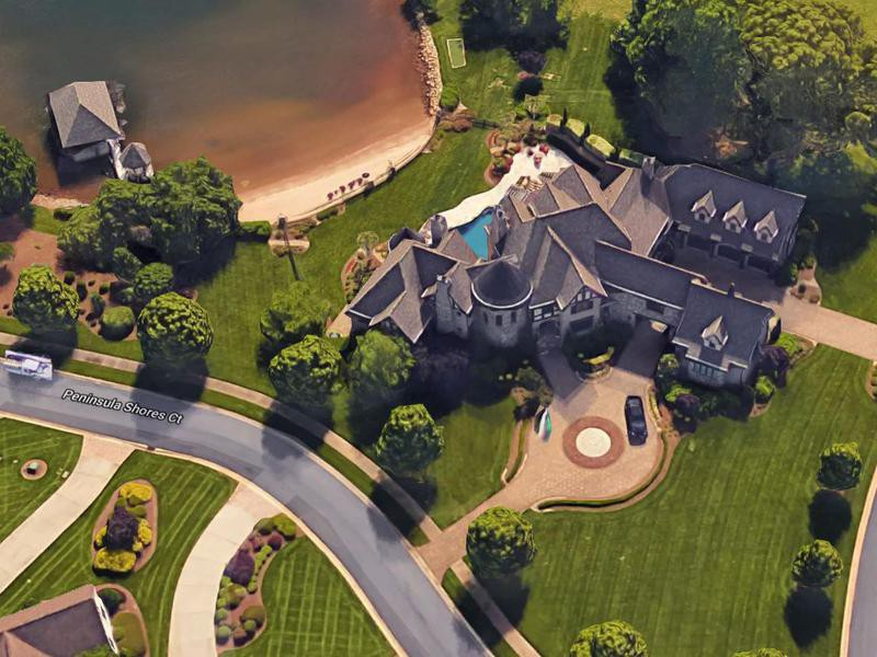 Kyle Busch's house in Charlotte