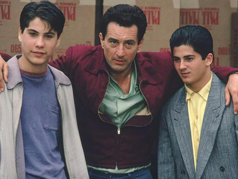 Robert De Niro, Joseph D'Onofrio, and Christopher Serrone in Goodfellas