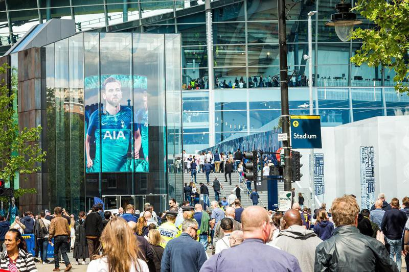 Tottenham Hotspur Stadium in London