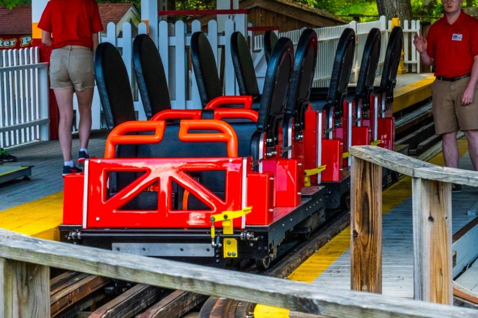 Trains for Rollo Coaster