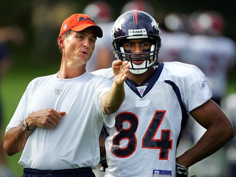 Denver Broncos wide receiver coach Steve Watson